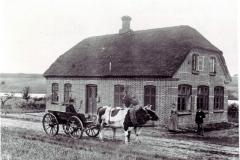 Ingstrup Skole 1890 Lærer N. Nielsen  og hustru