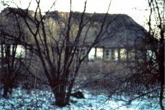 """""""Smedens hus"""" ved Sødal Skov. ca. 1959"""