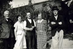 Peiter med Niels og de tre-børn