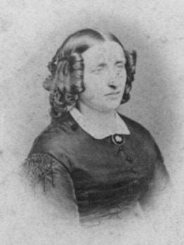 Elisabeth Cathrine Thalette Wigelsen, g. Bruun (1823-99)