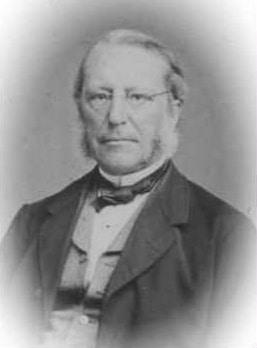Frederik Bruun, 22.7.1816-21.12.1891